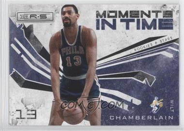 2009-10 Panini Rookies & Stars - Moments in Time - Black #2 - Wilt Chamberlain /100