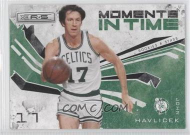 2009-10 Panini Rookies & Stars - Moments in Time - Black #3 - John Havlicek /100