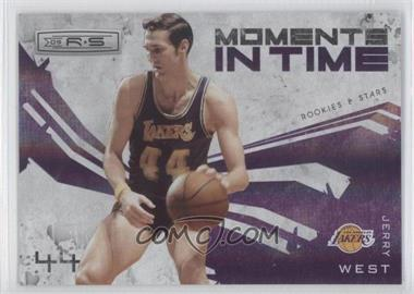 2009-10 Panini Rookies & Stars - Moments in Time - Holofoil #6 - Jerry West /250
