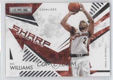 2009-10 Panini Rookies & Stars - Sharp Shooters - Black #8 - Mo Williams /100