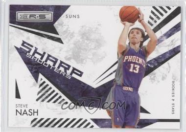 2009-10 Panini Rookies & Stars - Sharp Shooters - Black #9 - Steve Nash /100