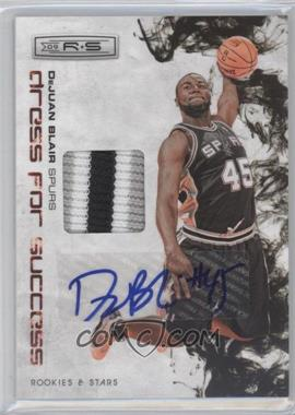 2009-10 Panini Rookies & Stars Dress for Success Materials Prime Signatures [Autographed] #32 - DeJuan Blair /10
