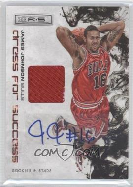 2009-10 Panini Rookies & Stars Dress for Success Materials Signatures [Autographed] #15 - James Johnson /25