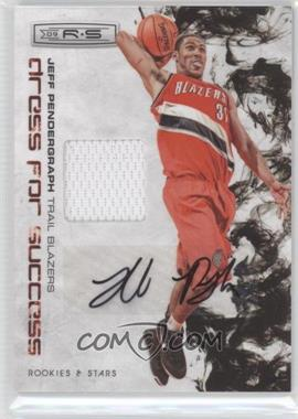 2009-10 Panini Rookies & Stars Dress for Success Materials Signatures [Autographed] #29 - Jeff Pendergraph /25