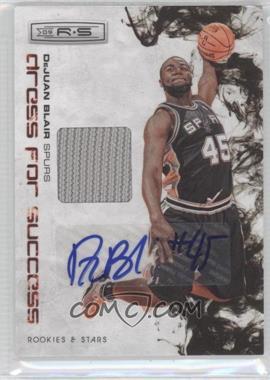 2009-10 Panini Rookies & Stars Dress for Success Materials Signatures [Autographed] #32 - DeJuan Blair /25