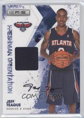 2009-10 Panini Rookies & Stars Freshman Orientation Materials Signatures [Autographed] #18 - Jeff Teague /25