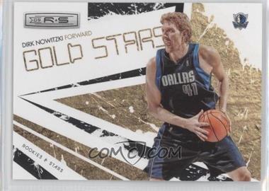 2009-10 Panini Rookies & Stars Gold Stars Black #4 - Dirk Nowitzki /100