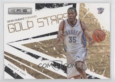 2009-10 Panini Rookies & Stars Gold Stars Black #6 - Kevin Durant /100