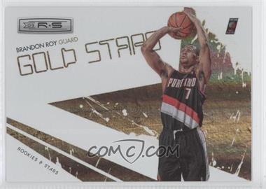 2009-10 Panini Rookies & Stars Gold Stars Holofoil #10 - Brandon Roy /250