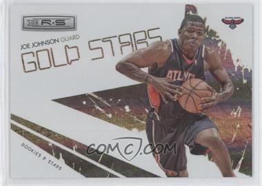 2009-10 Panini Rookies & Stars Gold Stars Holofoil #11 - Joe Johnson /250