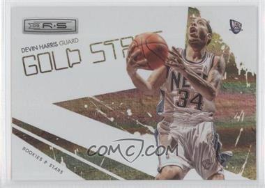 2009-10 Panini Rookies & Stars Gold Stars Holofoil #12 - Devin Harris /250