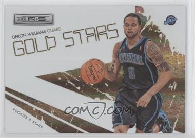2009-10 Panini Rookies & Stars Gold Stars Holofoil #13 - Deron Williams /250