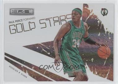 2009-10 Panini Rookies & Stars Gold Stars Holofoil #15 - Paul Pierce /250