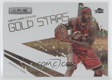 2009-10 Panini Rookies & Stars Gold Stars Holofoil #3 - Lebron James /250