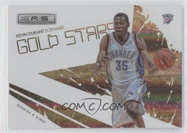 2009-10 Panini Rookies & Stars Gold Stars Holofoil #6 - Kevin Durant /250