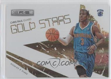 2009-10 Panini Rookies & Stars Gold Stars Holofoil #7 - Chris Paul /250