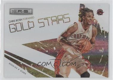2009-10 Panini Rookies & Stars Gold Stars Holofoil #9 - Chris Bosh /250