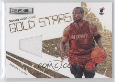 2009-10 Panini Rookies & Stars Gold Stars Materials [Memorabilia] #1 - Dwyane Wade