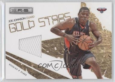 2009-10 Panini Rookies & Stars Gold Stars Materials [Memorabilia] #11 - Joe Johnson