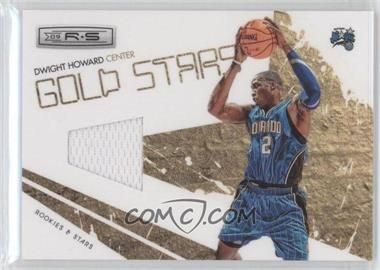 2009-10 Panini Rookies & Stars Gold Stars Materials [Memorabilia] #14 - Dwight Howard