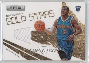 2009-10 Panini Rookies & Stars Gold Stars Materials [Memorabilia] #7 - Chris Paul