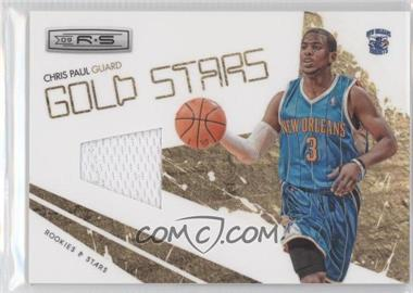 2009-10 Panini Rookies & Stars Gold Stars Materials [Memorabilia] #7 - Chris Paul
