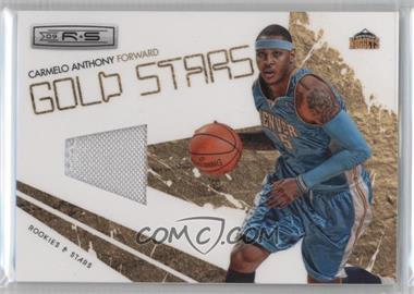 2009-10 Panini Rookies & Stars Gold Stars Materials [Memorabilia] #8 - Carmelo Anthony