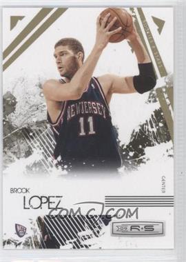 2009-10 Panini Rookies & Stars Gold #58 - Brook Lopez /500