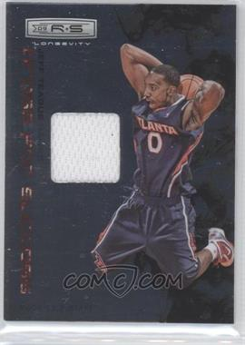 2009-10 Panini Rookies & Stars Longevity Dress for Success Materials #18 - Jeff Teague /299
