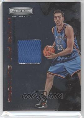 2009-10 Panini Rookies & Stars Longevity Dress for Success Materials #22 - B.J. Mullens /299