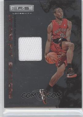 2009-10 Panini Rookies & Stars Longevity Dress for Success Materials #8 - DeMar DeRozan /299