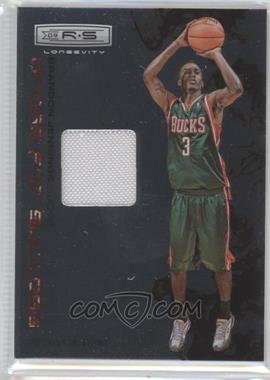 2009-10 Panini Rookies & Stars Longevity Dress for Success Materials #9 - Brandon Jennings /299