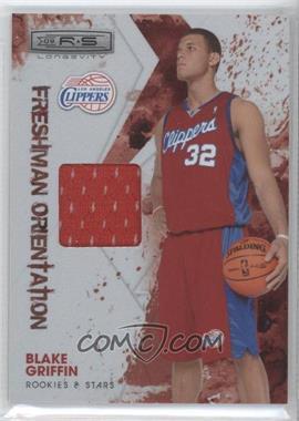 2009-10 Panini Rookies & Stars Longevity Freshman Orientation Materials #1 - Blake Griffin /299