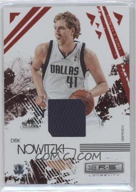2009-10 Panini Rookies & Stars Longevity Ruby Materials [Memorabilia] #17 - Dirk Nowitzki /250