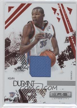 2009-10 Panini Rookies & Stars Longevity Ruby Materials [Memorabilia] #66 - Kevin Durant /150