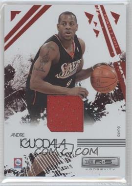 2009-10 Panini Rookies & Stars Longevity Ruby Materials [Memorabilia] #73 - Andre Iguodala /250