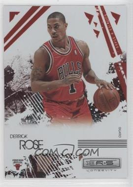 2009-10 Panini Rookies & Stars Longevity Ruby #11 - Derrick Rose /250