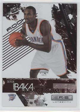 2009-10 Panini Rookies & Stars Longevity Ruby #126 - Serge Ibaka /250