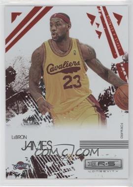 2009-10 Panini Rookies & Stars Longevity Ruby #14 - Lebron James /250