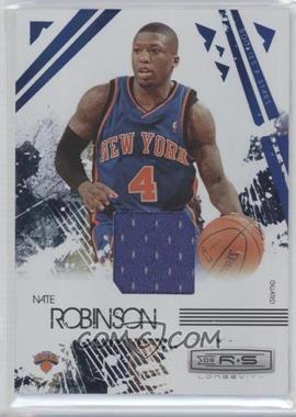 2009-10 Panini Rookies & Stars Longevity Sapphire Materials #64 - Nate Robinson /25