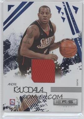 2009-10 Panini Rookies & Stars Longevity Sapphire Materials #73 - Andre Iguodala /25