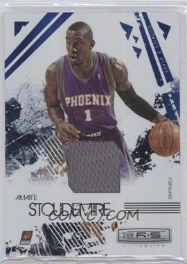2009-10 Panini Rookies & Stars Longevity Sapphire Materials #76 - Amar'e Stoudemire /25
