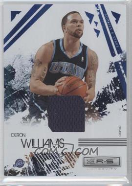 2009-10 Panini Rookies & Stars Longevity Sapphire Materials #93 - Deron Williams /25