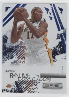 2009-10 Panini Rookies & Stars Longevity Sapphire #42 - Andrew Bynum /25
