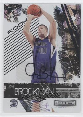 2009-10 Panini Rookies & Stars Longevity Signatures [Autographed] #117 - Jon Brockman /874