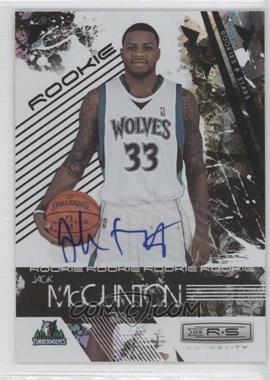 2009-10 Panini Rookies & Stars Longevity Signatures [Autographed] #124 - Jack McClinton /474