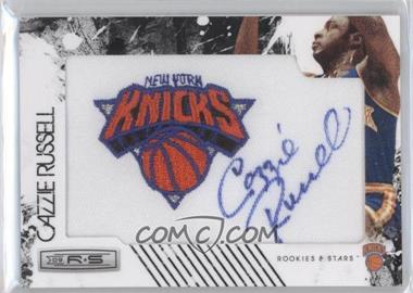 2009-10 Panini Rookies & Stars Manufactured Team Logo Patch Retired Signatures [Autographed] #13 - Cazzie Russell /199