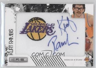 2009-10 Panini Rookies & Stars Manufactured Team Logo Patch Retired Signatures [Autographed] #15 - Kurt Rambis /99