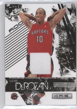 2009-10 Panini Rookies & Stars Materials [Memorabilia] #127 - DeMar DeRozan /250