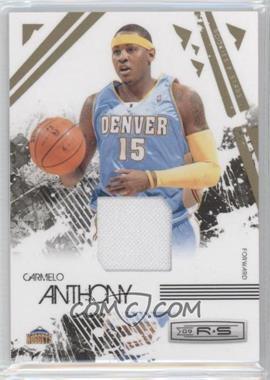 2009-10 Panini Rookies & Stars Materials [Memorabilia] #22 - Carmelo Anthony /250